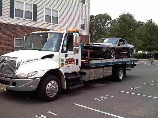 Jersey City Car Towing