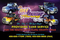 All Day & Night Towing, Inc. Towing Company Images