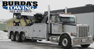 Burda's Towing Towing Company Images