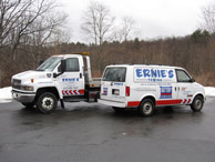 Ernie's Towing Towing Company Images