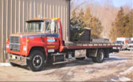 D & E Service Center Towing Company Images