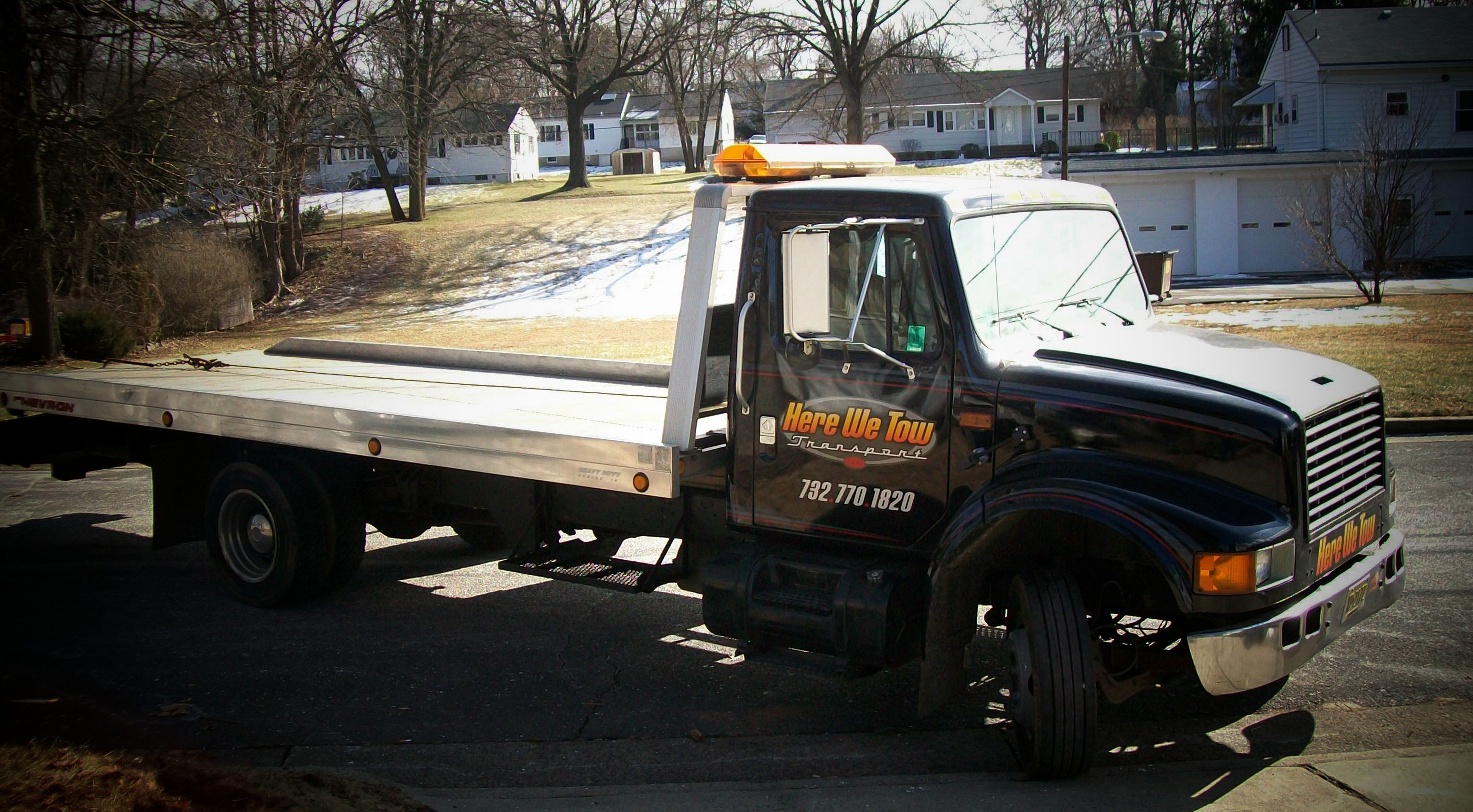 Here We Tow Transport Towing Company Images