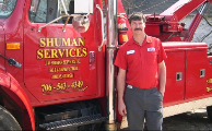 Shuman Services Towing Company Images