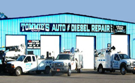 Tommies Auto & Diesel Towing Company Images