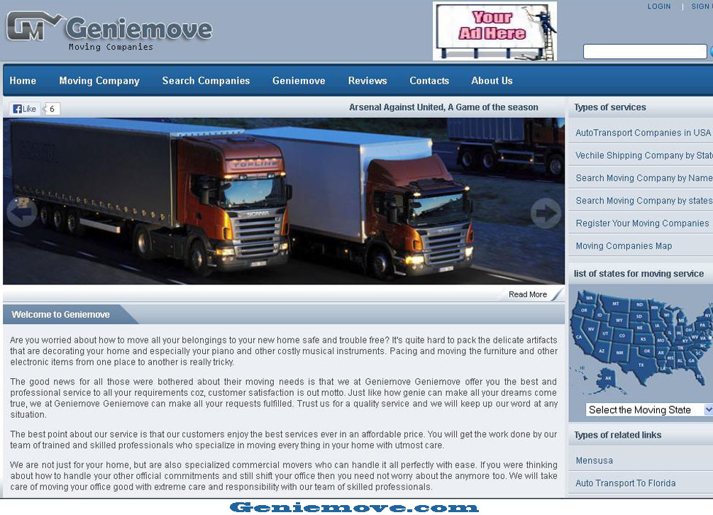 Geniemove Moving Company Image