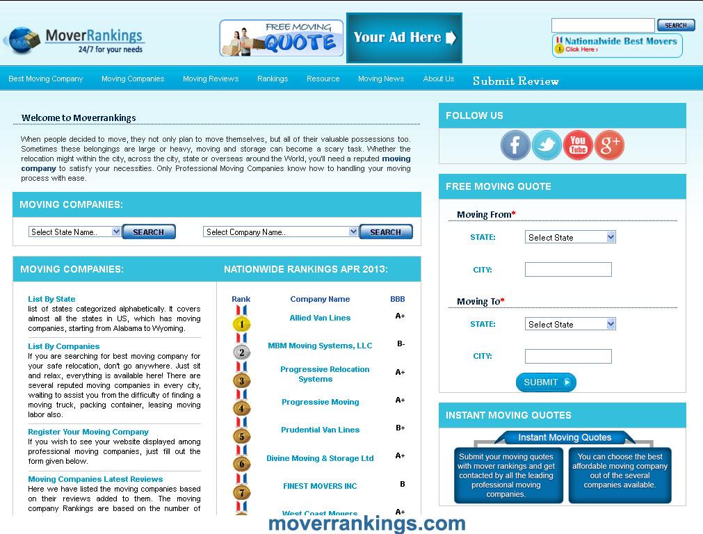 Moverrankings Company Image